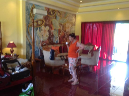 Bali Paradise Hotel Boutique Resort : Lounge