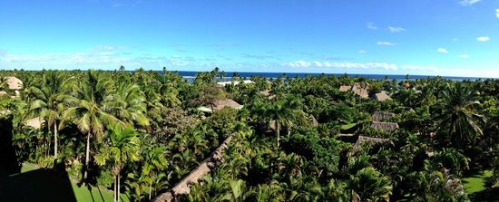Outrigger Fiji Beach Resort: View from the main lobby