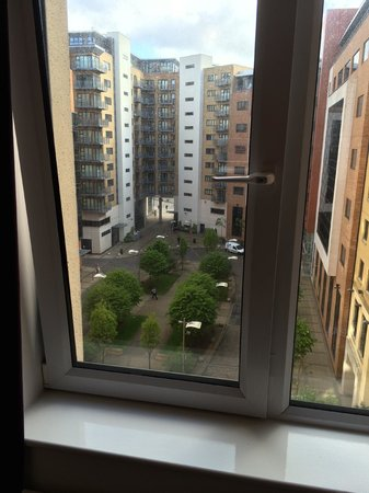 Jurys Inn Newcastle: 'View' from room 502