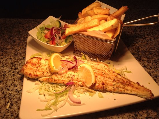 Fish & Grill: Grilled fish