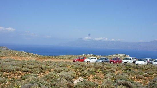 Balos Beach and Lagoon : паркинг