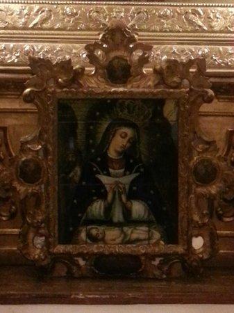 Basilica de la Macarena : Basilica Macarena-dipinto su altare interno