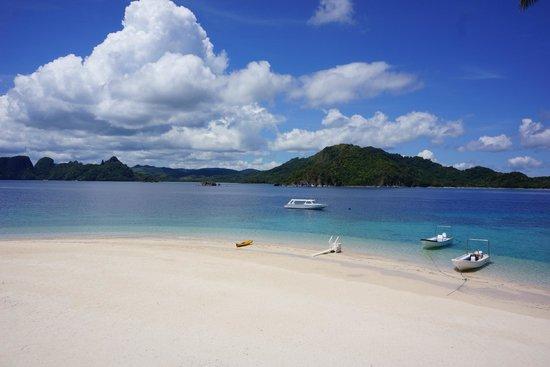El Nido Resorts Pangulasian Island: a pristine beach