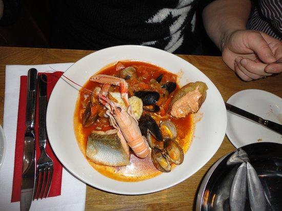 Crannog Seafood Restaurant: Bouillabaisse