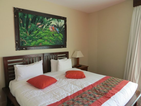 Les Jardins de Beauval : Chambre