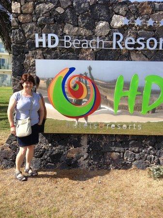 HD Beach Resort & Spa: entrada hotel
