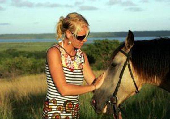 Bonamanzi Game Reserve: Horse Safari's at Bonamanzi