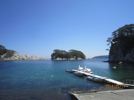 Hotel Ragaso : 三陸の海は美しい!海の幸と山の幸がある三陸へ行ってください