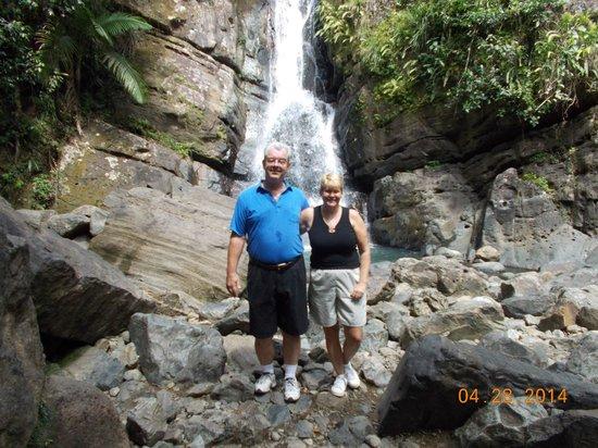 Sue's Place: la mina falls