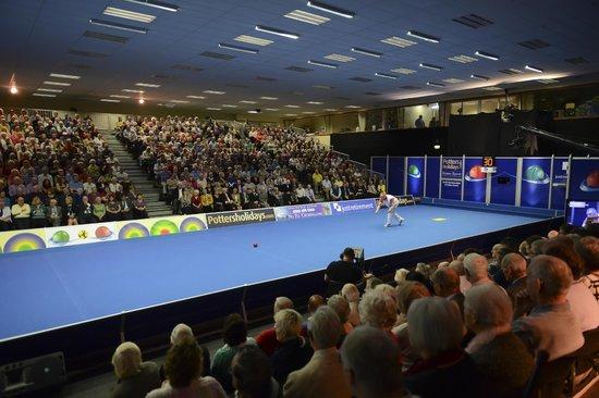 Potters Resort: World Indoor Bowls Championships