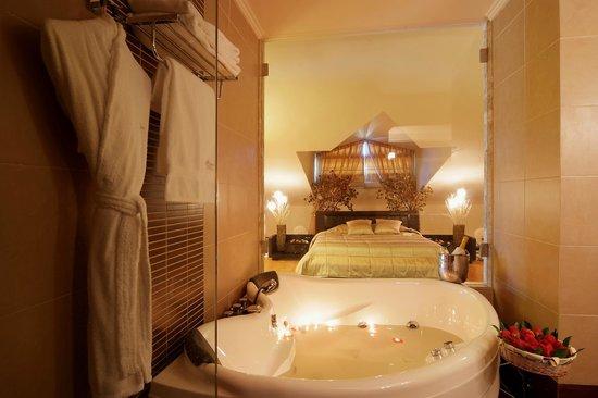 Princessa Hotel: Penthouse Jacuzzi