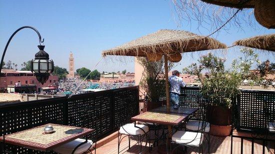 Riad Andalla : terrasse