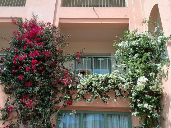 Alhambra Thalasso Hotel: ons balkonnetje