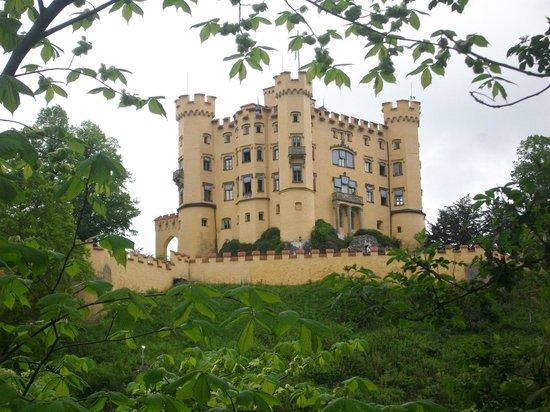 Schloss Hohenschwangau: vista dal museo