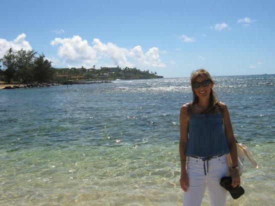 Koa Kea Hotel & Resort: Kauai author Sydney Theadora stays here for writing sabbatical