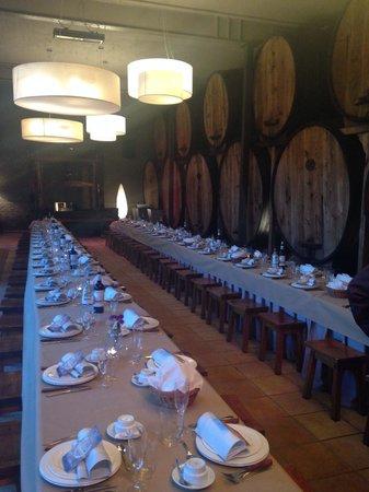Casa Trabanco : Salón de la cena