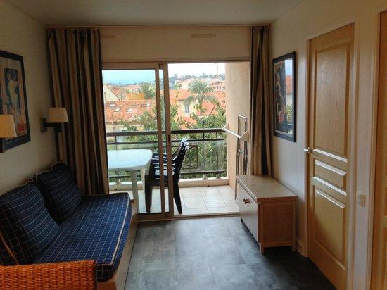 Pierre & Vacances Residence Cannes Beach: SEJOUR