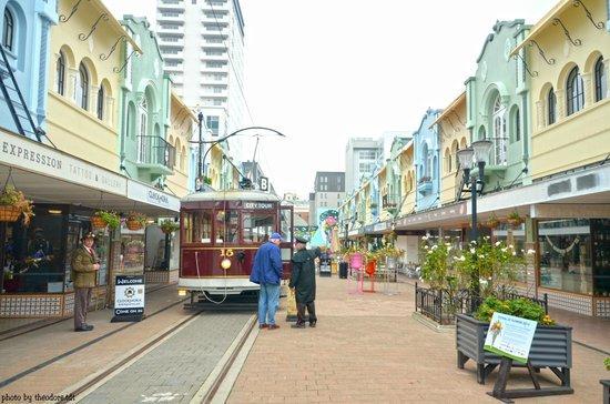 Christchurch Tramway: Tramway