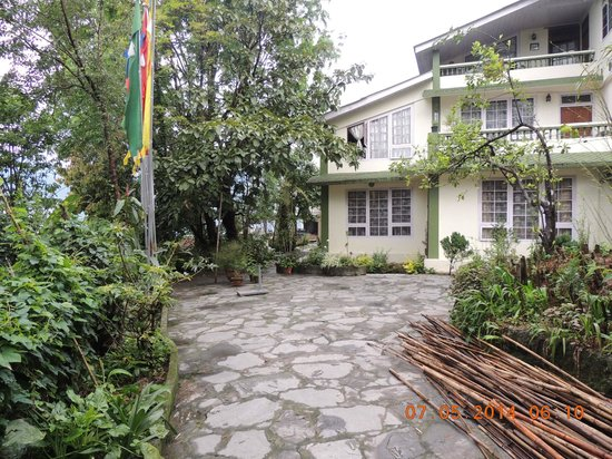 The Shire Guest House: The house exterior
