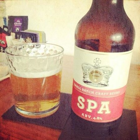 The Rosemary: Locally brewed beer
