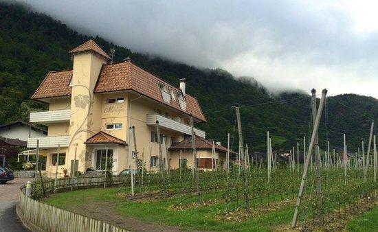 Pensione Monya : Hotel view (May 2014)