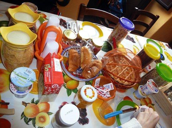 Catania City Center B&B: Desayuno completo