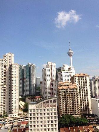 The Royale Bintang Kuala Lumpur: view from 16th floor..