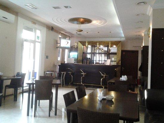 Congress Hall Hotel: Кафе при отеле