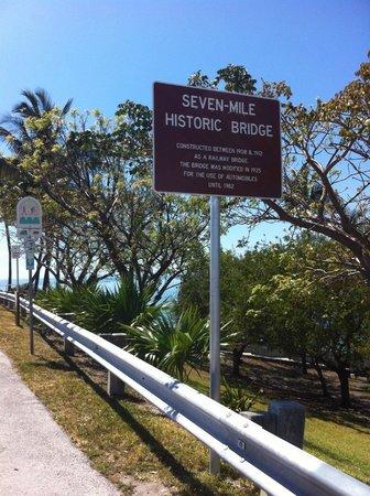 Pigeon Key: L'inizio del Seven Mile Bridge per andare a Piegon