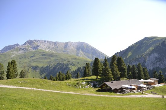 Baita Caserina : panorama stupendo