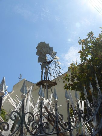 Boho Hostel : easy to find with its big windmill