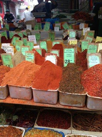 Carmel Market (Shuk Ha'Carmel) : spices