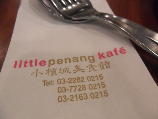 Little Penang Cafe: nice place