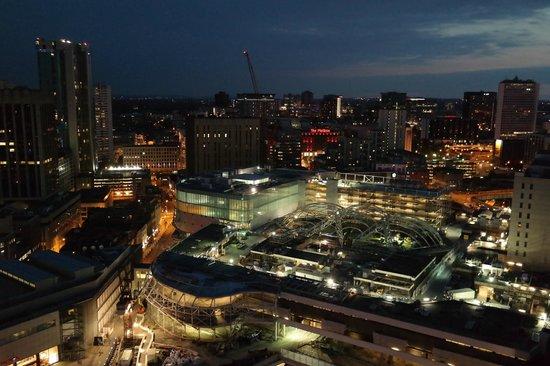 Staying Cool at the Rotunda: night view