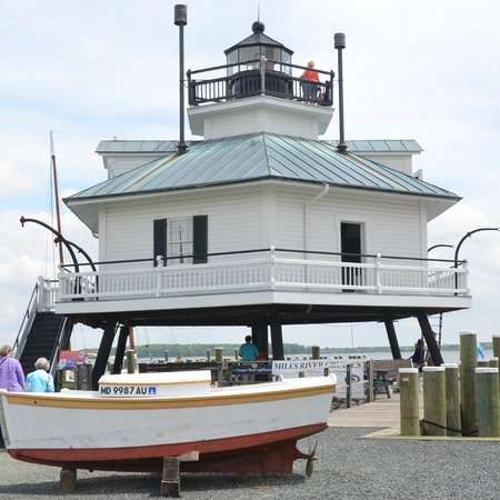 Chesapeake Bay Maritime Museum: Hooper Strait Lighthouse at CBMM