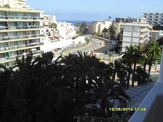 Seaside Sandy Beach : View from hotel toward beach