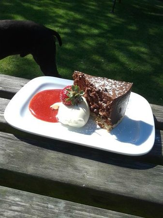 The Red Lion: Pudding