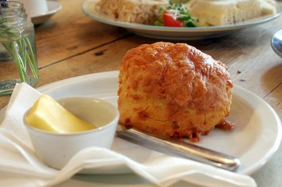 Lucy's Tearoom: Homemade cheese scone