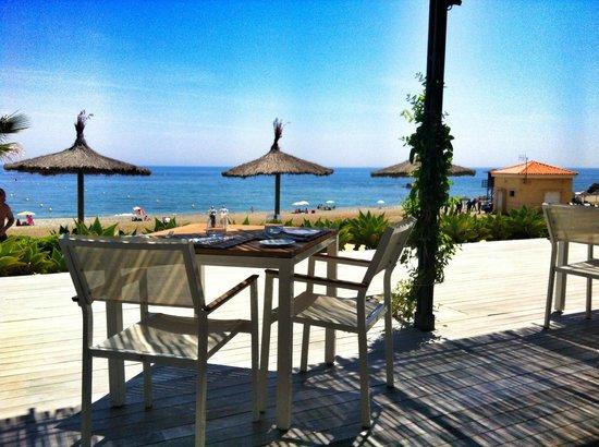Finca Cortesin Hotel, Golf & Spa : Vistas desde el restaurante