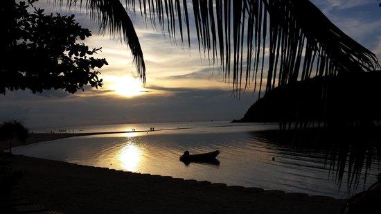 Mae Haad Beach: Dusk...