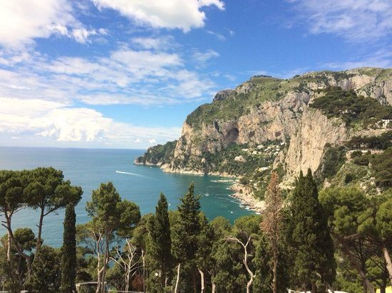 Villa Brunella: View from our Suite