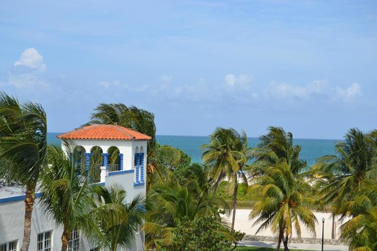 The Hotel of South Beach: vue de la piscine