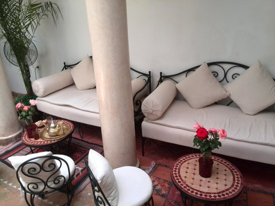 Riad Dar Saba: patio