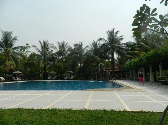 Ree Hotel: вид на бассейн