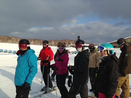 Ramat Niseko : Not at the Ramat, but the crew of friends we went with
