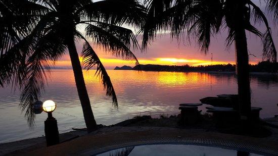 First Villa Beach Resort: View night