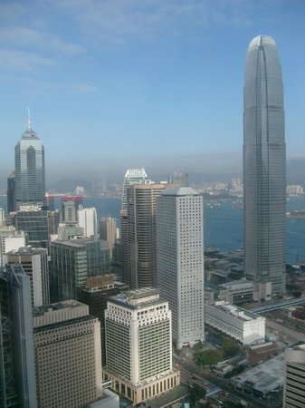 Bank of China Tower : Aussicht