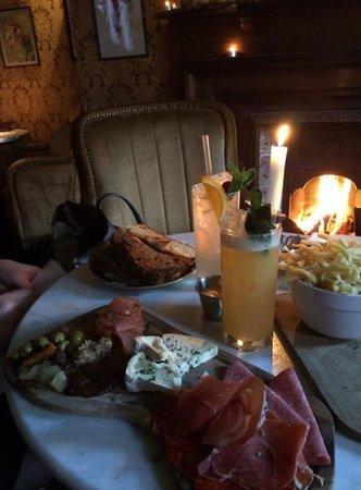 Vintage Cocktail Club: sharing platter