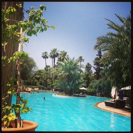 Es Saadi Marrakech Resort - Palace : Magnifique piscine