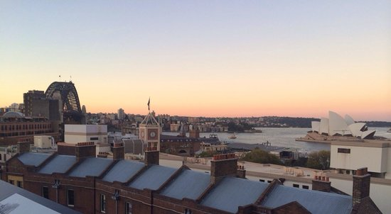 Sydney Harbour YHA: Amazing rooftop view!